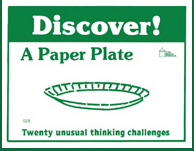 Discover! A Paper Plate - Product Image