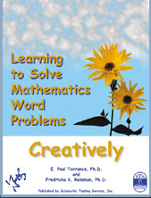 Learning to Solve Mathematics Word Problems Creatively - Product Image